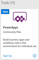 Communityplan in Visual Studio