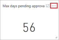 Max days pending approval card
