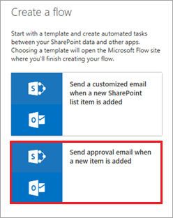 Create an approval flow