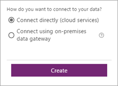 Connect directly (cloud services)