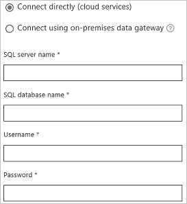 Connettersi a un database in Azure